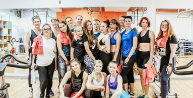 Сайкл Party 2019 Family Fitness